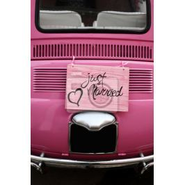 Plakat Just Married