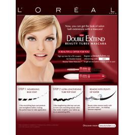 Loreal Maskara Double Extend Beauty Tubes 2 x 6 ml